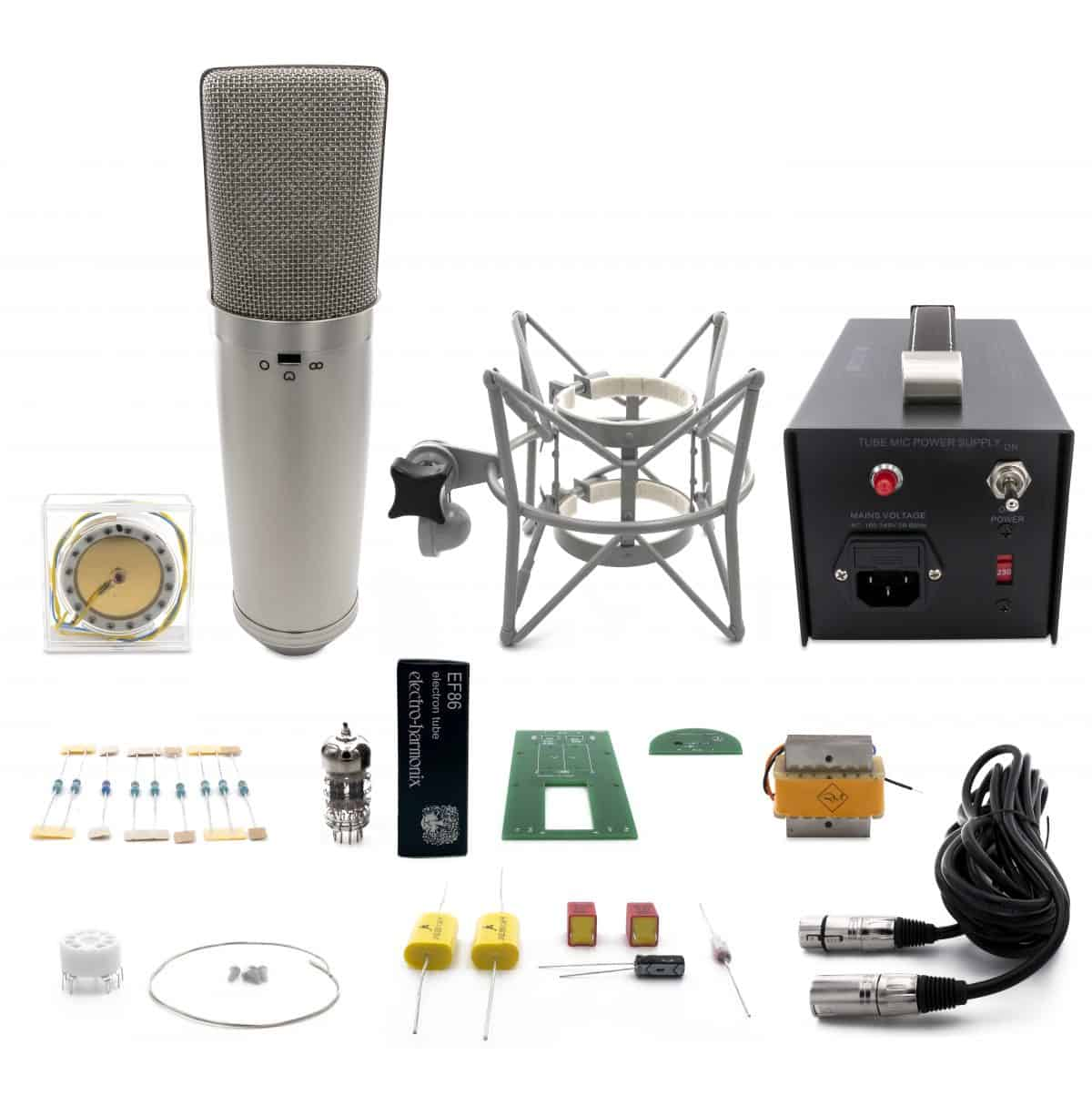 U67 DIY Microphone Kit