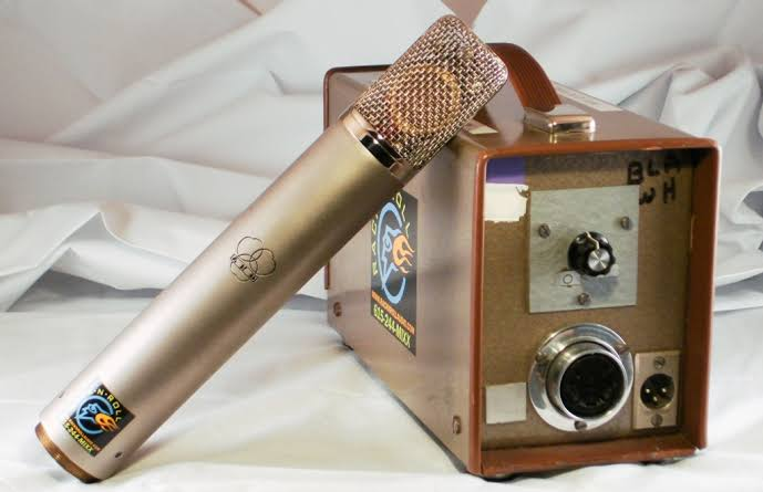 Old AKG C12 with PSU